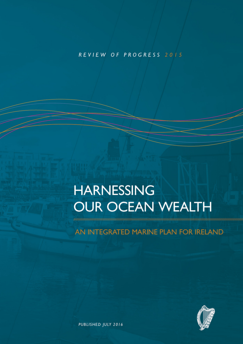 Harnessing Our Ocean Wealth - Review of Progress 2015