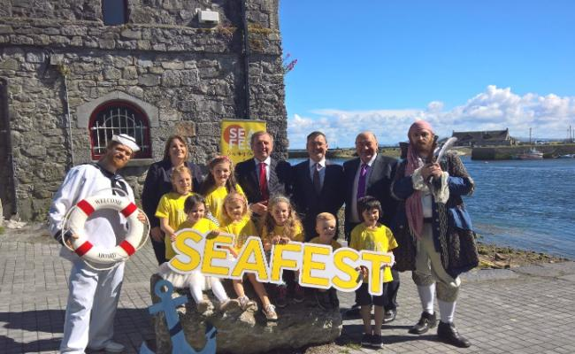 Minister Creed launches SeaFest, Ireland's national maritime festival