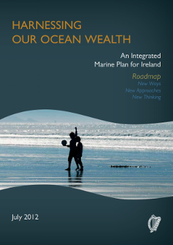 Harnessing Our Ocean Wealth - An Integrated Marine Plan for Ireland was published by the Government in 2012