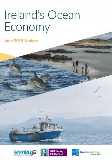 Ireland's Ocean Economy 2018 Infographic