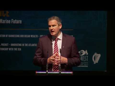 Seán Kyne TD, Minister of State for Gaeltacht Affairs and Natural Resources